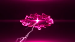Neon Pink Magical Portal - 40 - stock footage