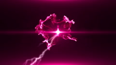 Neon Pink Magical Portal - 13 - stock footage