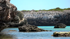 A good place to relax, Mallorca Stock Footage