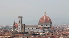 Dom of Florence Timelapse - stock footage