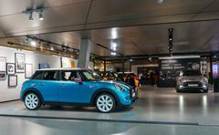 Munich, Germany - March 10, 2016: BMW Headquarters in Munich Stock Photos