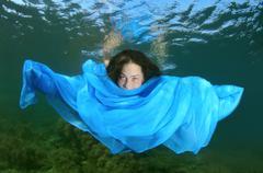 Underwater animals of Black sea Stock Photos