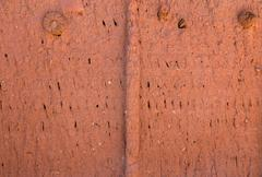 Texture cracked clay surface Stock Photos