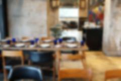 Cafe coffee shop restaurant interior, blur and defocus Kuvituskuvat