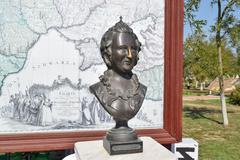 Bronze statue of Russian Empress Catherine II Kuvituskuvat