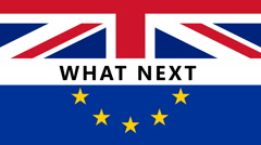 BREXIT What NExt Stock Footage