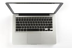Laptop computer on white background Kuvituskuvat