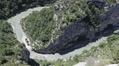 Franc, Gorges Du Verdon Canyon Stock Footage