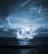apocalypse - stock photo