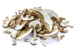 Dried boletus mushrooms - stock photo