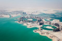 Arabian city Stock Photos