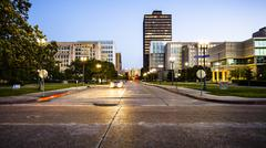 Downtown Baton Rouge, Louisiana Skyline Stock Photos