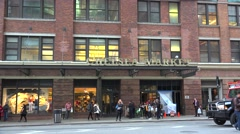 Chelsea Market from 9th avenue. NYC, USA Stock Footage