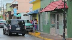 Puerto rico street6 Stock Footage