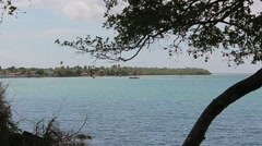 Southern puerto rico coastal beach2 Stock Footage