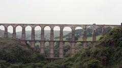 Mexico City Aqueduct  - stock footage