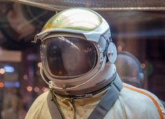Moscow, Russia - May 31, 2016: Russian astronaut spacesuit in space museum Kuvituskuvat