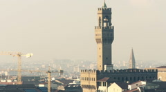 Italy Florence Palazzo Vecchio Stock Footage