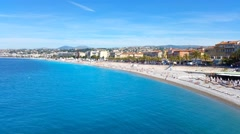 Nice French Riviera - stock footage