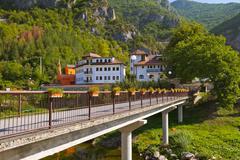 The medieval monastery Dobrun in Bosnia and Herzegovina Stock Photos