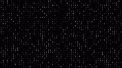 binary code screen - stock footage