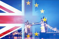 Brexit - UK votes to leave the EU Stock Illustration