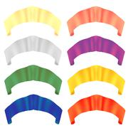 Colorful Paper Scrolls. Colored Ribbons. Stock Illustration