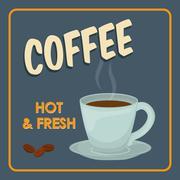 Coffee mug icon. Coffee time design. Vector graphic - stock illustration