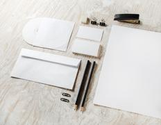 Blank branding identity - stock photo