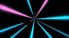 Warp Light Effect Stock Footage