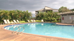 Swimming Pool Scenic 1 Stock Footage