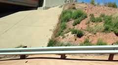 Road Trip, Highway, New Mexico, USA - stock footage
