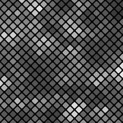 Grey Square Pattern - stock illustration