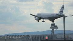 Traffic at Frankfurt airport Stock Footage
