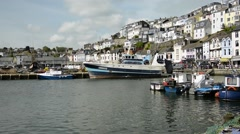Brixham Harbour Stock Footage