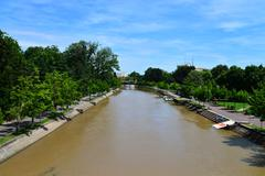 Timisoara Bega River Stock Photos