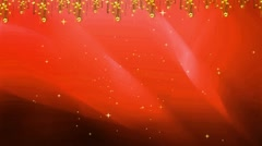 Wedding Motion Loopable Background 053, Red orange background Stock Footage