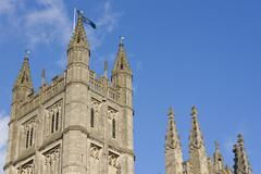 Bath Abbey - stock photo