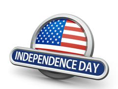Independence Day icon - stock illustration