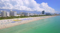 Summer of 2016 Miami Beach Florida Stock Footage