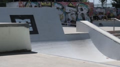 Daniel Ferreira during the DC Skate Challenge Stock Footage