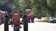 Antique Iowa Tractors Stock Footage