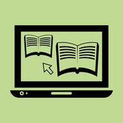 Learning graphic design , vector illustration Stock Illustration