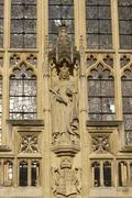 Detail of Bath Abbey - stock photo