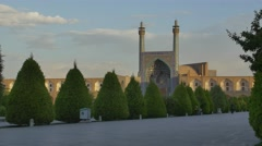 Isfahan Imam Square carriage Stock Footage