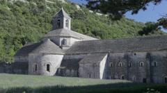 Abbey de Senanque, Gordes, Provence Stock Footage
