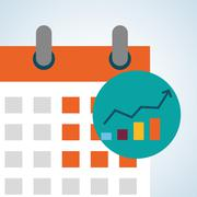 Flat illustration about achievement design - stock illustration