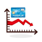 Global economy design, financial and money concept Stock Illustration