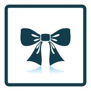 Party bow icon Stock Illustration