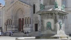 Place de la Republique, Arles Stock Footage